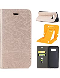 Funda Galaxy S8 Plus,Protective Carcasa para Samsung Galaxy S8 Plus,Ekakashop Retro Oro