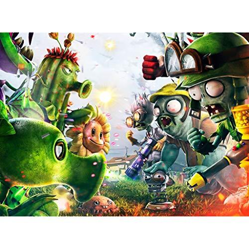 Unbekannt WYF Dekompressions-Puzzle-Spielzeug, Pflanzen Vs. Zombies Theme Holzpuzzle, 300.500.1000 Teile P629 (Color : D, Size : 300pc) - York 300 New Puzzle Teile