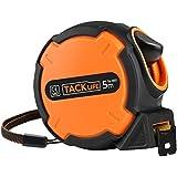 Tacklife TM-B02 Classique Mètre à Ruban Mesure 5m x 25mm /Tape Measure /Métrique de Liaison /Verrouillable avec un Crochet