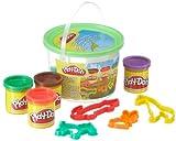 Hasbro–Play-Doh 23413186–tierspa de Seau