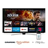 Grundig OLED - Fire TV Edition Hands-Free mit Alexa (65 VLO 8599) 164 cm (65 Zoll) OLED Fernseher Plus Ring Video Doorbell 2
