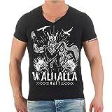 Life Is Pain Männer und Herren Tshirt Odin Walhalla Ruft (mit Rückendruck) Größe S - 8XL
