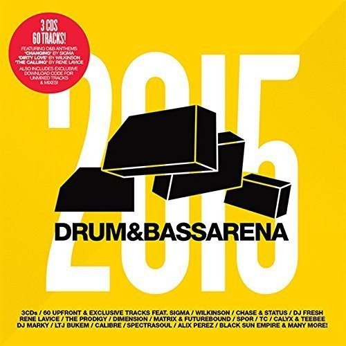 Drum & Bass Arena 2015 (3cd+Mp3)
