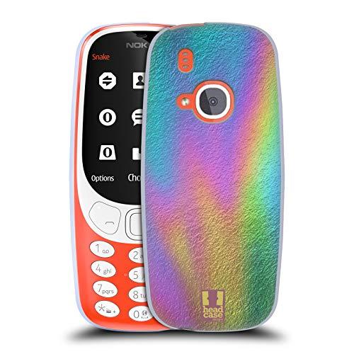 Head Case Designs Folie Ölfleck Druck Soft Gel Hülle für Nokia 3310 (2017)