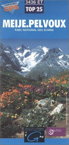 Carte de randonnée : Meije Pelvoux