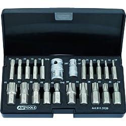 KS Tools 911.3120 TX plus Steckschlüssel-Satz 22-tlg.