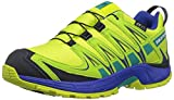 Salomon Unisex Kids' Xa Pro 3D CSWP J Trail Running Shoes, Green, 30 EU
