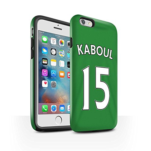 Offiziell Sunderland AFC Hülle / Glanz Harten Stoßfest Case für Apple iPhone 6S+/Plus / Pack 24pcs Muster / SAFC Trikot Away 15/16 Kollektion Kaboul