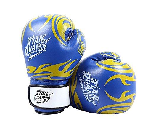 Boxen - Kickboxhandschuh volle Finger-Handschuhe -MMA 2 ---- Blau