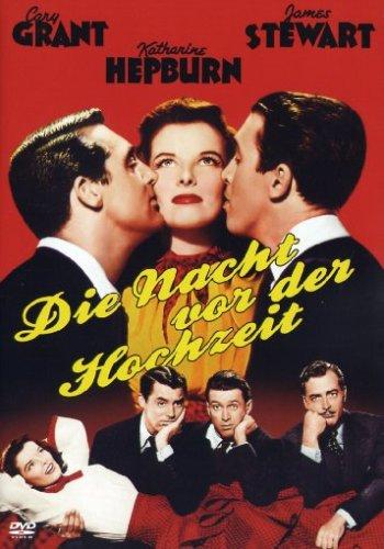 Bild von Die Nacht vor der Hochzeit - DVD (Cary Grant , Katharine Hepburn , James Stewart)