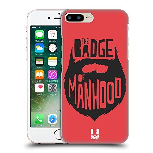 Head Case Designs Snitch Oscar E Howard Nero E Bianco Cover Morbida In Gel Per Apple iPhone 6 Plus / 6s Plus Badge Of Manhood