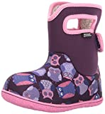 GIRLS BABY BOGS OWLS PURPLE MULTI INSULATED WASHABLE WARM WELLIES BOOTS 721661-UK 5 (EU 22)