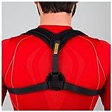 VOELUX Haltungskorrektur Geradehalter Schulter Rücken Haltungsbandage Einstellbare Größe für Männer und Frauen