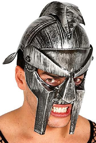 Herren Erwachsene Römischer Gladiator Krieger Soldat Kostüm Helm Hut