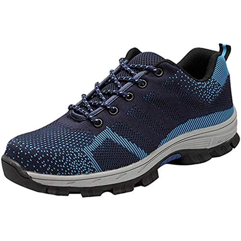 Unisexe Chaussure de Sécurité Chaussures de Travail Travail Travail avec Embout de Protection en Acier et Semelle de Protection... - B07H4LRXQ8 - 6b2710