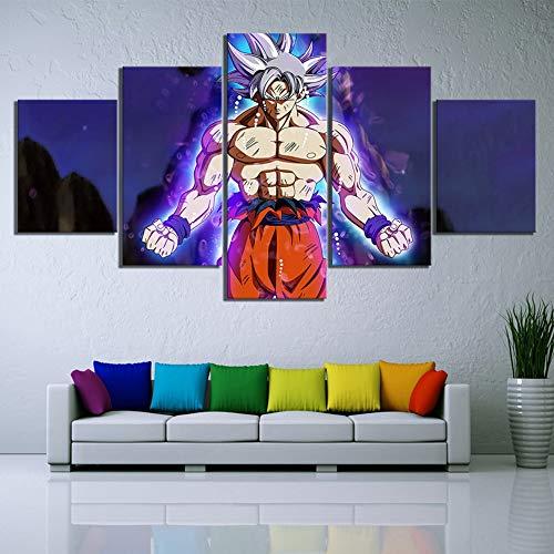 mmwin Quadro su Tela 5 Pezzi Seven s Poster Moderna Decorazione Domestica HD Stampata per Soggiorno Wall Artwork