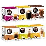 Nescafé Dolce Gusto Die Klassiker Set, Kaffee, Kaffeekapsel, 6 x 16 Kapseln