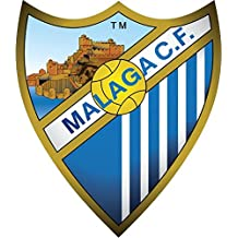 Malaga CF Spain Soccer Football Alta Calidad De Coche De Parachoques Etiqueta Engomada 12 x 12 cm