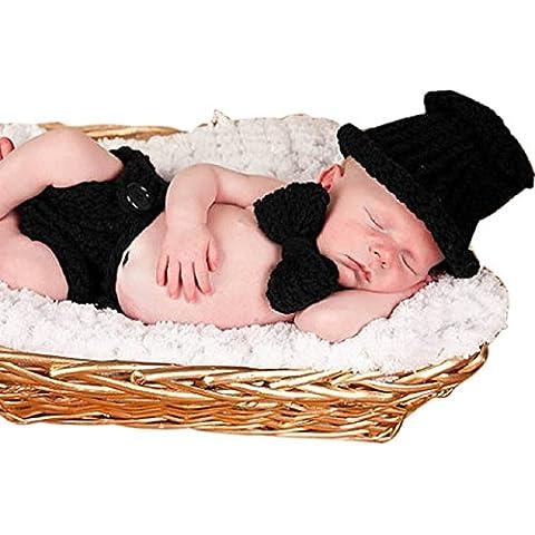 Malloom®recién nacido bebé niña niño croché Tejer apoyo de la foto traje equipo