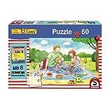 Schmidt Spiele Puzzle 56260 Meine Freundin Conni, Picknick im Freien, 60 Teile