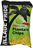 Village Pride Plantain Chips Lime Chilli 75 g (Pack of 24)
