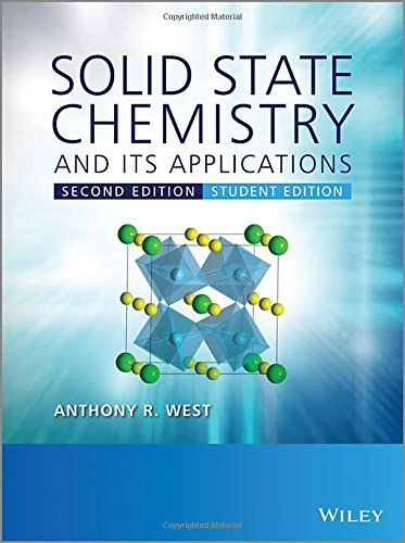 Solid State Chemistry and its Applications by Anthony R. West (2014-03-17)