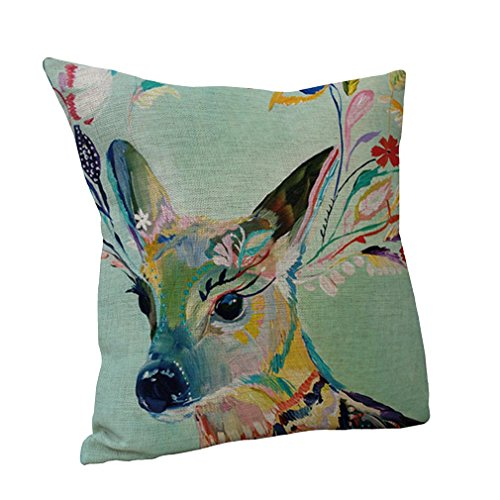 nunubee-oil-painting-deer-throw-pillow-cushion-covers-cotton-linen-home-sofa-decor-gift