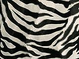 Tierfellimitat, Zebra, ca. 150cm