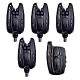 Mack2 Coffret 4 détecteurs Carpe Carp Addict sx Alarm Set + Centrale