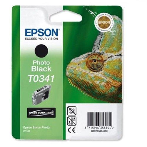 Preisvergleich Produktbild Epson T0341 Tintenpatrone Chamäleon, Singlepack, schwarz