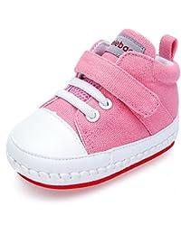Sneakers bianche con chiusura velcro per unisex Zolimx 4Rz6ai