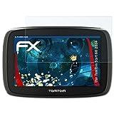atFoliX Panzerfolie für Tomtom Start 60 (2014) Folie - 3 x FX-Shock-Clear stoßabsorbierende ultraklare Displayschutzfolie