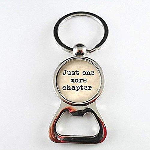Book Lover Zitat Just One More Kapitel Kunstharz Flaschenöffner Wort Jewelry Zitat Jewelry Buch Jewelry Buch Zitat Reader Bücherwurm Geschenk