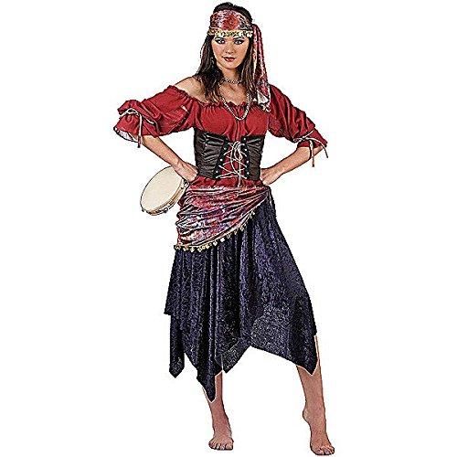 Imagen de limit sport  disfraz de zíngara para adultos, talla s ma661