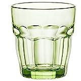 Gläser 6-tlg. Set, grünes massives und durchgefärbtes Glas 270 ml - Spülmaschinenfest