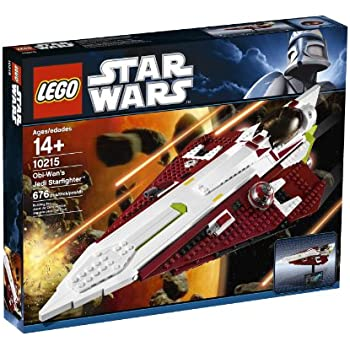 Lego Star Wars - 10215 - Jeu de Construction - Obi Wan's Jedi Starfighter