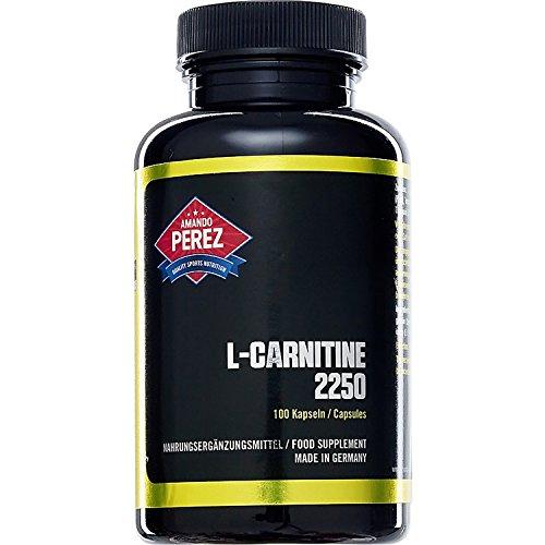 L-Carnitin - 2250 mg Pro Dosis - Hochdosiert - Definitionsphase - 100 Kapseln