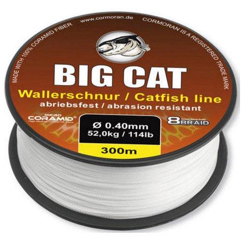 Cormoran Big Cat 8-fach geflochtene Waller-Schnur 1000m 0,40mm