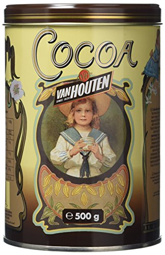 Van Houten Cocoa Powder Yellow Tin 500 g
