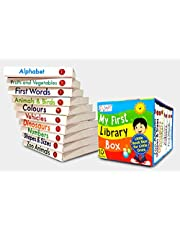 My First Library Box-Set of 10 Preschool Board Books