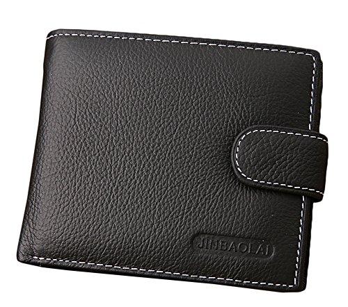 Bevalsa Vintage Portemonnaie aus Leder für Herren Geldbörse -
