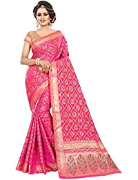 [Sponsored]Roadstar India Women's Tussar Silk New Colletion Party Wear Saree Kanjivaram Style(RS_MANY_Series_2017_2018_SAREE)