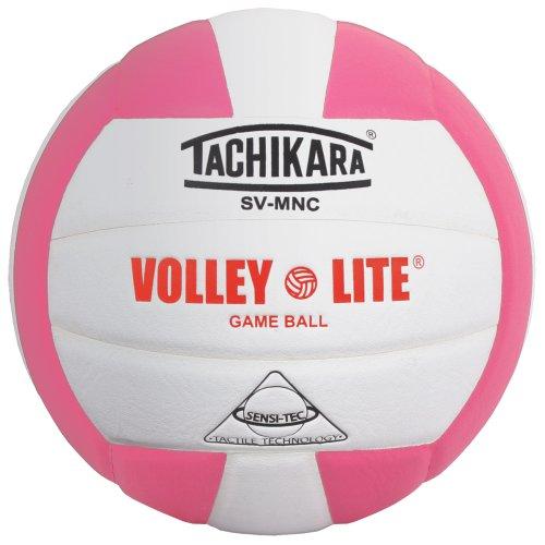 e Leichtbau-Volleyball für 12 und unter Spielern, rosaweiß ()