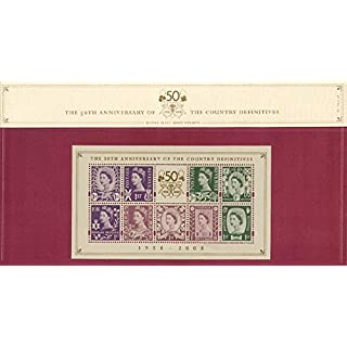 2008 Country Definitives Presentation Pack PPD105 (printed No. 80) - Royal Mail Stamps