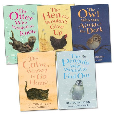 Jill Tomlinson Pack, 5 books, RRP 19.95 (Cat Who Wanted To Go Home; Hen Who ...