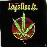 Reggae Cannabis Hanfblatt Kopftuch Bandana Halstuch Biker Sport Tuch Kopfbedeckung