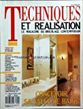TECHNIQUES ET REALISATION POUR LA MAISON [No 5] du 01/07/1987 - CONCEVOIR SA SALLE DE BAINS - FRANCFORT - SANITAIRE - CONFORT - PLOMBERIE - SANITAIRES