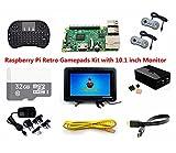 Raspberry Pi Retro Gamepads Kit with 10.1 inch Monitor