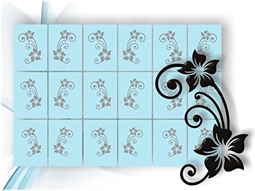 Airbrush-Schablonen- Nagellack Schablone für aufregende selbstklebende Airbrush Nailart