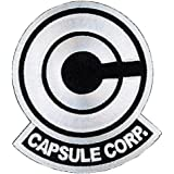 Titan One Europe Anime Dragon Ball Z Capsule Corp. Cosplay Jacket Patch Iron On Parche